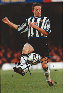 Kevin Gallacher Newcastle Photo (Signed)