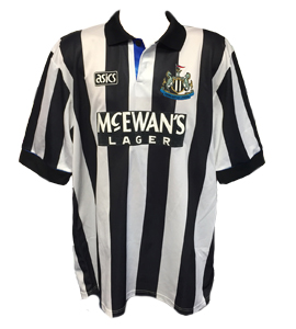 Newcastle United 1993-94 Home Shirt