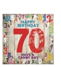 Happy Birthday- 70. Have A Canny Day. (Greetings Cards)