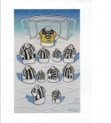Team Line Up John Coatsworth (Greeting Card)