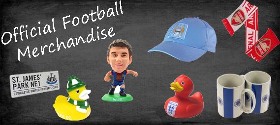 Official footbal merchandise