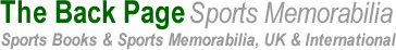 the back page sports and memorabilia logo