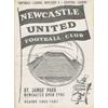 Home NUFC 1956/57