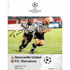 Signed Programmes NUFC