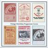Vintage Programme Cards