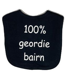 100% Geordie Bairn, Bib (Babywear)