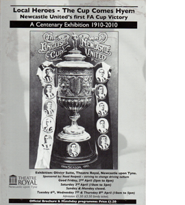 1910 Newcastle United Centenary Exhibition Programme