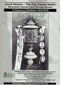 1910 Newcastle United Centenary Exhibition Programme