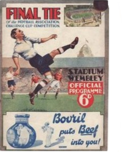 1932 FA Cup Final Arsenal v Newcastle (Programme)