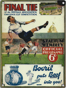 1932 FA Cup Final (Metal Sign)