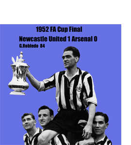 1952 FA Cup Final (Greetings Card)