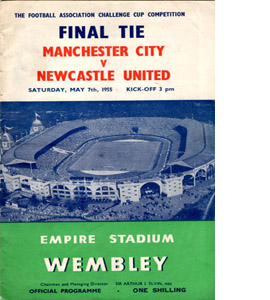 1955 FA Cup Final Man City v Newcastle (Programme)