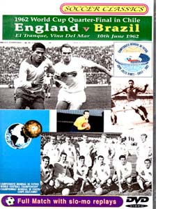 1962 World Cup Quarter Final England Vs Brazil (DVD)