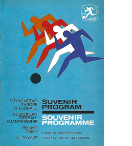 1976 European Championships Tournament Brochure (Programme)