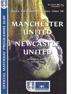 1999 FA Cup Final Manchester Utd v Newcastle United (Programme)