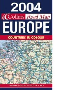 2004 Map of Europe [Folded Map]