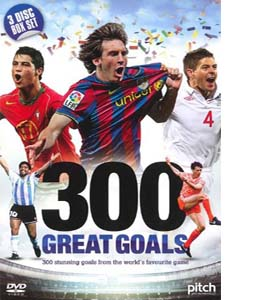 300 Great Goals Box Set (DVD)