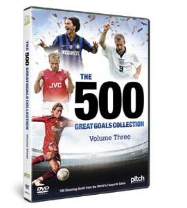 500 Great Goals - Volume 3 (DVD)