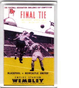 1951 FA Cup Final (Fridge Magnet)