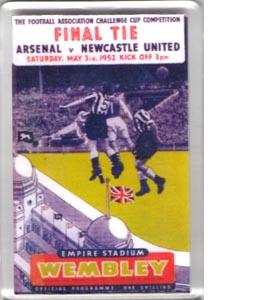 1952 FA Cup Final (Fridge Magnet)