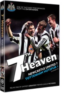 7th Heaven: Newcastle United 7 Tottenham Hotspur 1 (DVD)