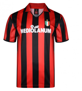 AC Milan 1988 Official Retro Home Shirt