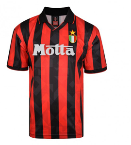 AC Milan 1994 Official Retro Home Shirt