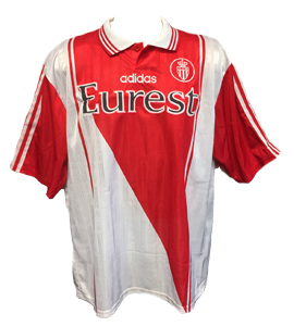AS Monaco 1996-97 Home Shirt