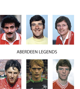 Aberdeen Legends (Greetings Card)