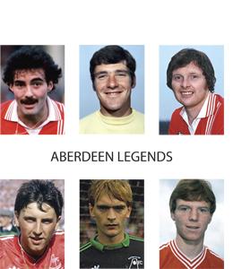Aberdeen Legends (Greetings Card)