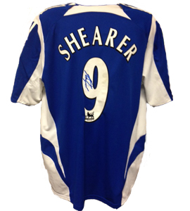 Alan Shearer Newcastle United Shirt 2005/06 (Match-Worn)