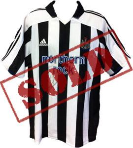 Alan Shearer Newcastle United 2003/04 Home Shirt (Signed)