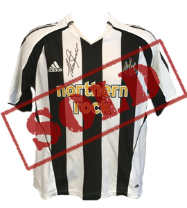 Alan Shearer Newcastle United 05/06 Home Shirt (Signed)
