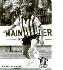 Alan Shoulder Newcastle United Heroes (Postcard)