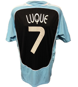 Albert Luque Newcastle United Shirt 2006/07 (Match-Worn)