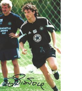 Alessandro Pistone Newcastle Photo (Signed)