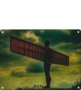 Angel Of The North (Metal Sign)