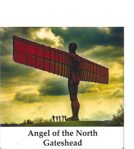 Angel of the North, Gateshead Version  (Ceramic Coaster)