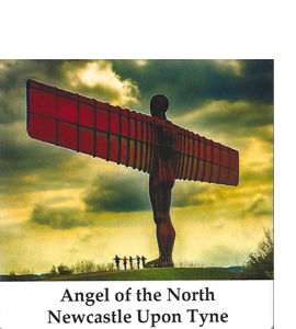 Angel of the North, Newcastle Version (Ceramic Coaster)