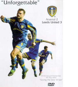 Arsenal 2 - Leeds United 3 - 2003 (DVD)