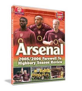 Arsenal Fc: End Of Season Review 2005/2006 (DVD)