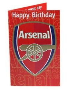 Arsenal Musical Greeting Card