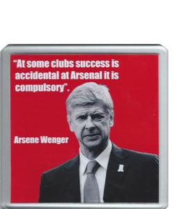 Arsene Wenger Quote (Coaster)