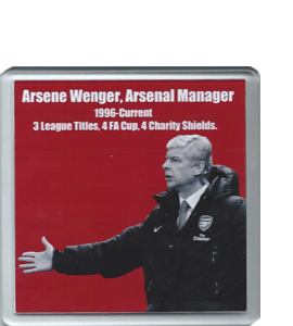 Arsene Wenger Arsenal (Coaster)