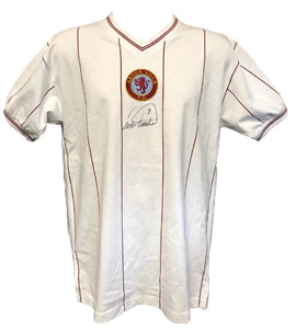 Aston Villa 1982 Away Shirt signed by Peter Withe (Signed)