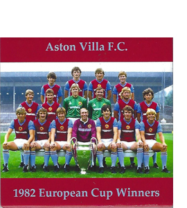 Aston Villa 1982 European Cup Winners (Ceramic Coaster)
