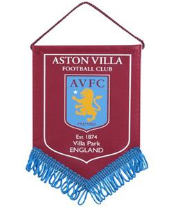 Aston Villa F.C. Mini Pennant