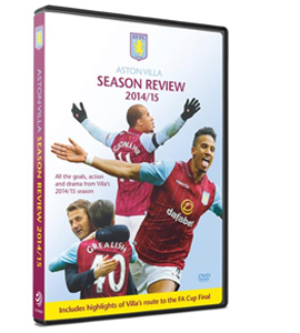 Aston Villa Season Review 2014/15 (DVD)