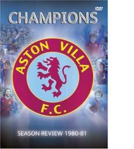 Aston Villa : 1980/1981 Season Review - Champions (DVD)