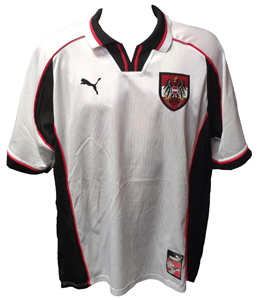 Austria 1998/00 Home World Cup 1998 Shirt